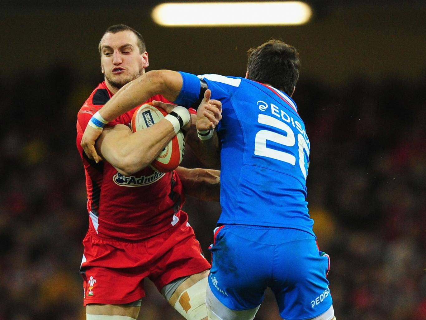 Sam Warburton will lead Wales out in Dublin as he returns from a shoulder injury for the Six Nations clash with Ireland