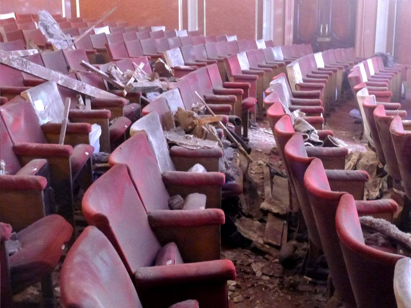 The night the house came down: the scene at the Apollo Theatre after the ceiling collapse