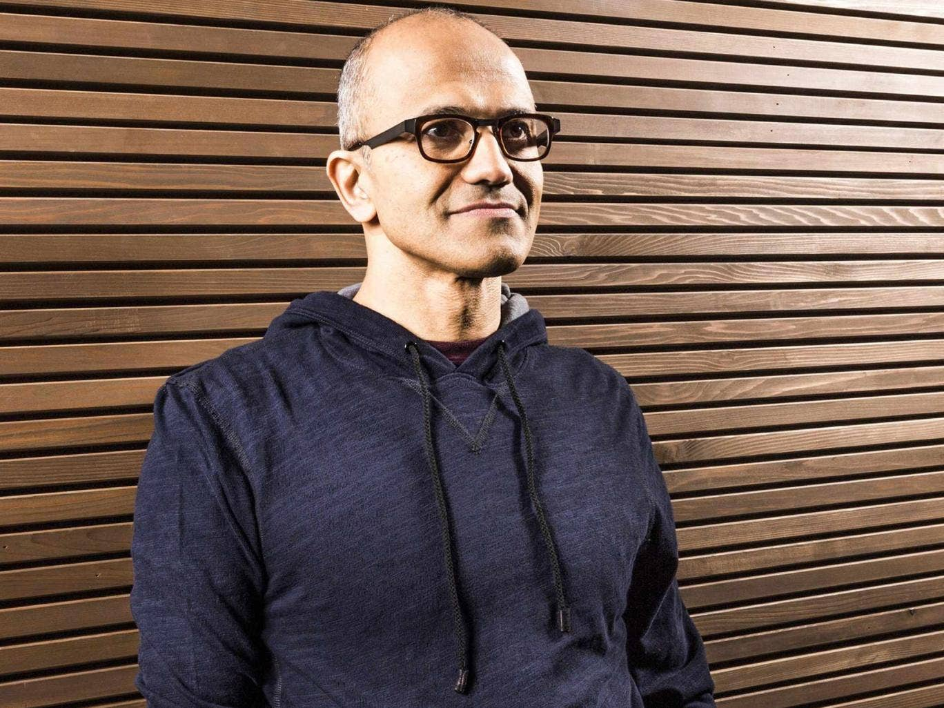 Satya Nadella said he learned much of his managerial style from playing cricket as a schoolboy in India