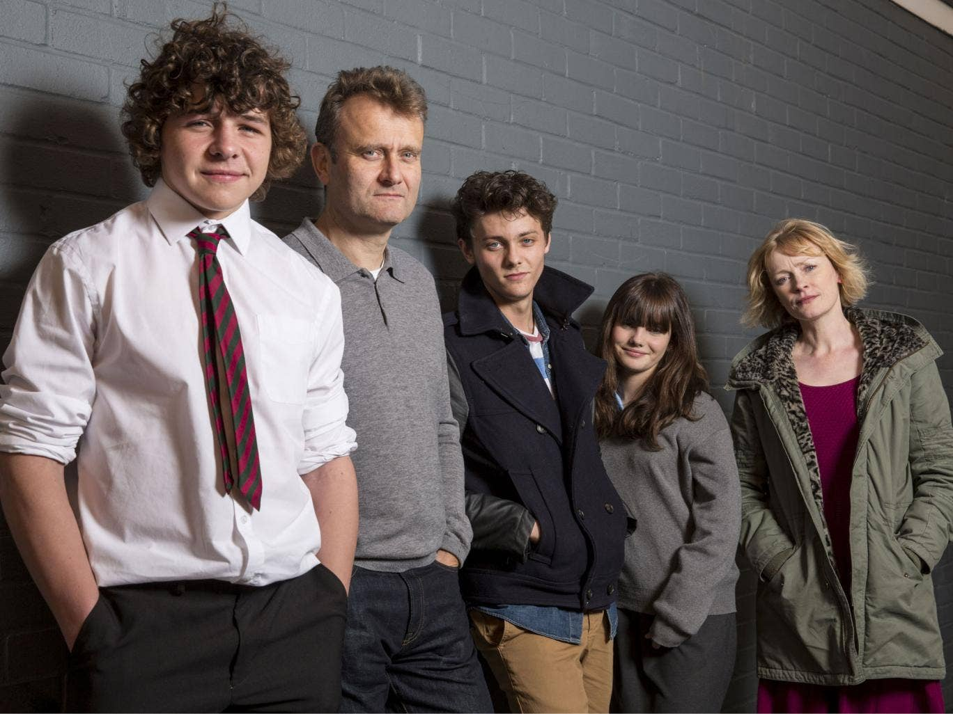 Catch Outnumbered tonight at 9pm on BBC1, starring Daniel Roche, Hugh Dennis, Tyger Drew-Honey, Ramona Marquez and Claire Skinner