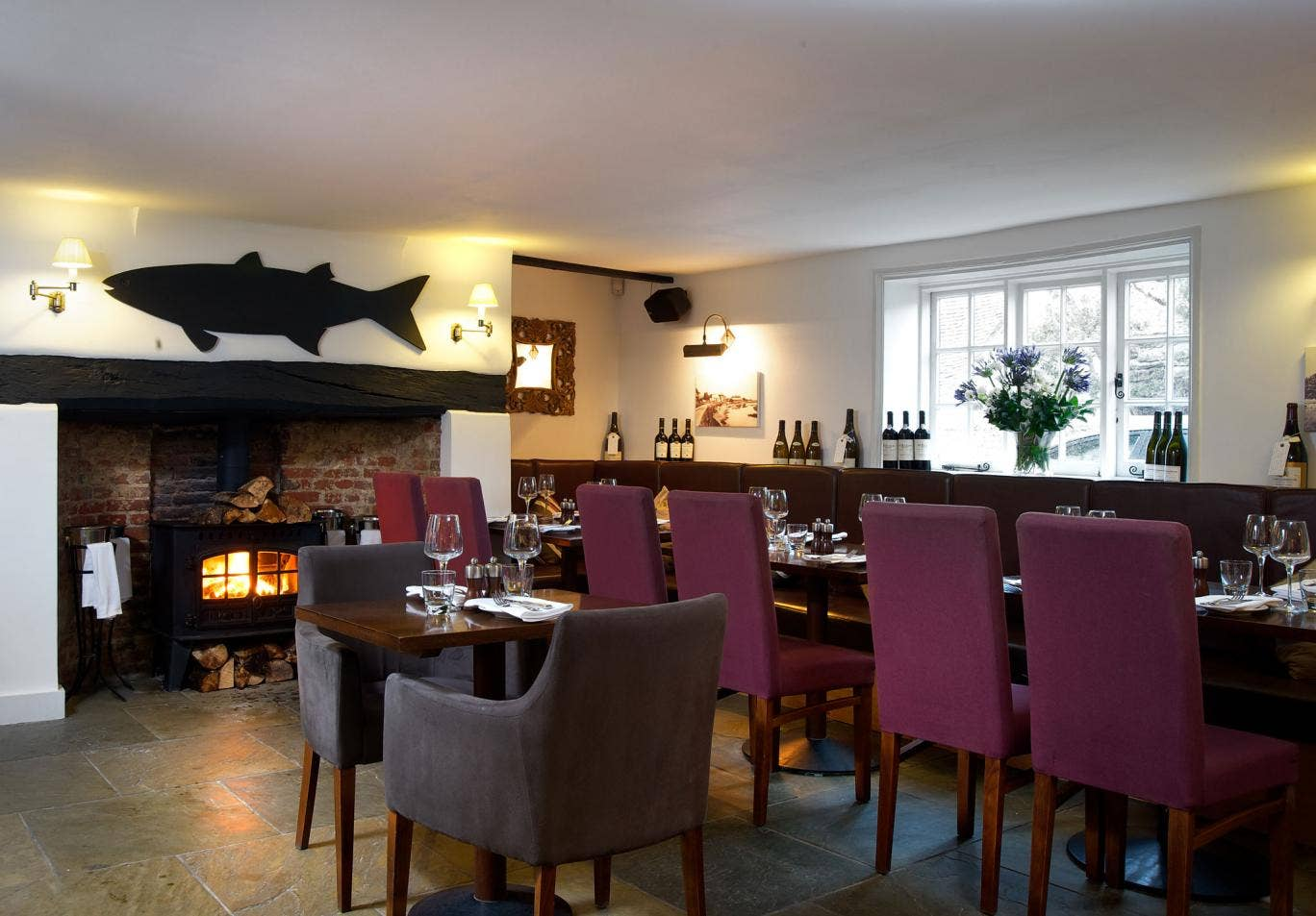 Vision of loveliness: The Crab & Lobster was an inn in the 17th century and has been renovated to the tune of £3m