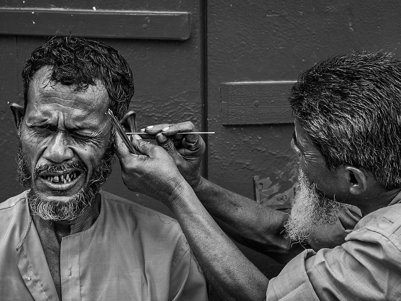 3. Winner: People category. Careful, brother... (Kolkata, India) by Sandipan Mukherjee
