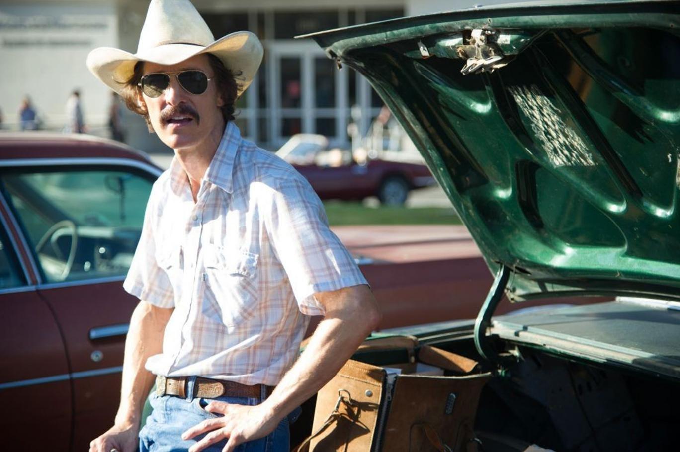 Chemical cowboy: Matthew McConaughey in Dallas Buyers Club