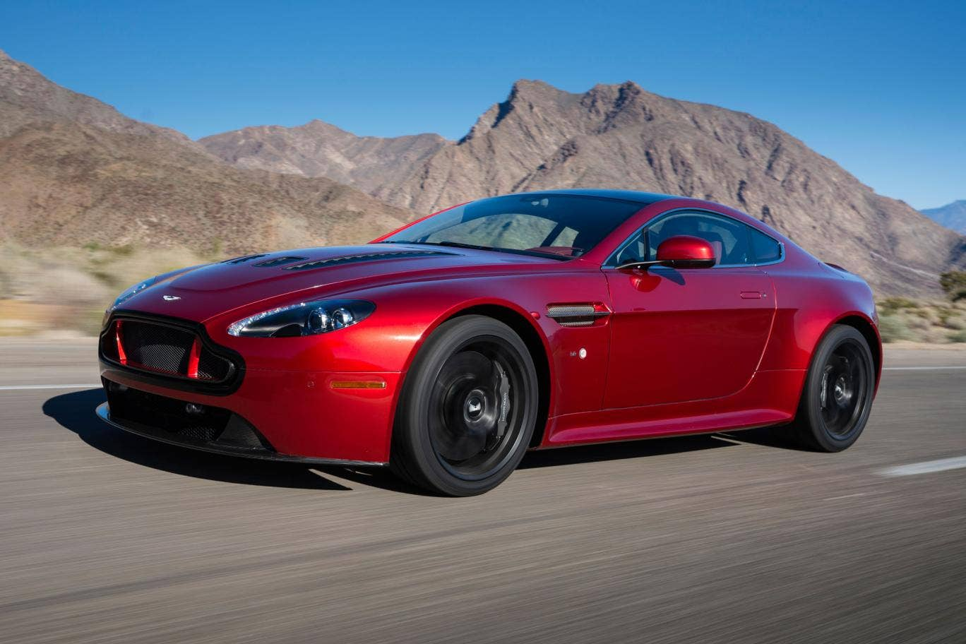 The V12 Vantage S marries the company's most compact body with its most powerful engine