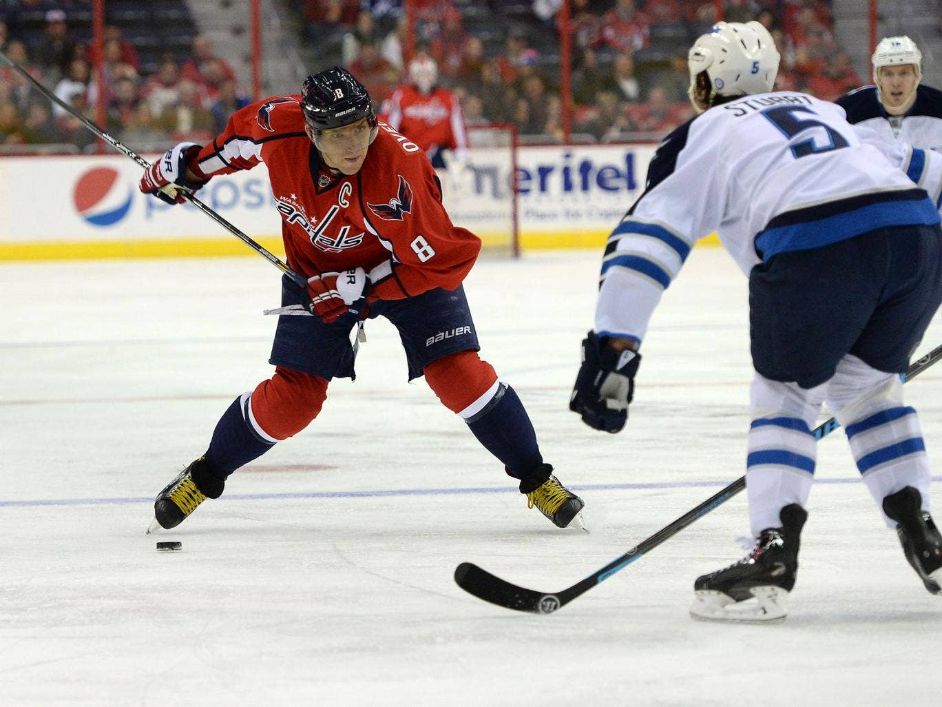Alexander Ovechkin will be Russia's main draw for the Ice Hockey at the Winter Olympics