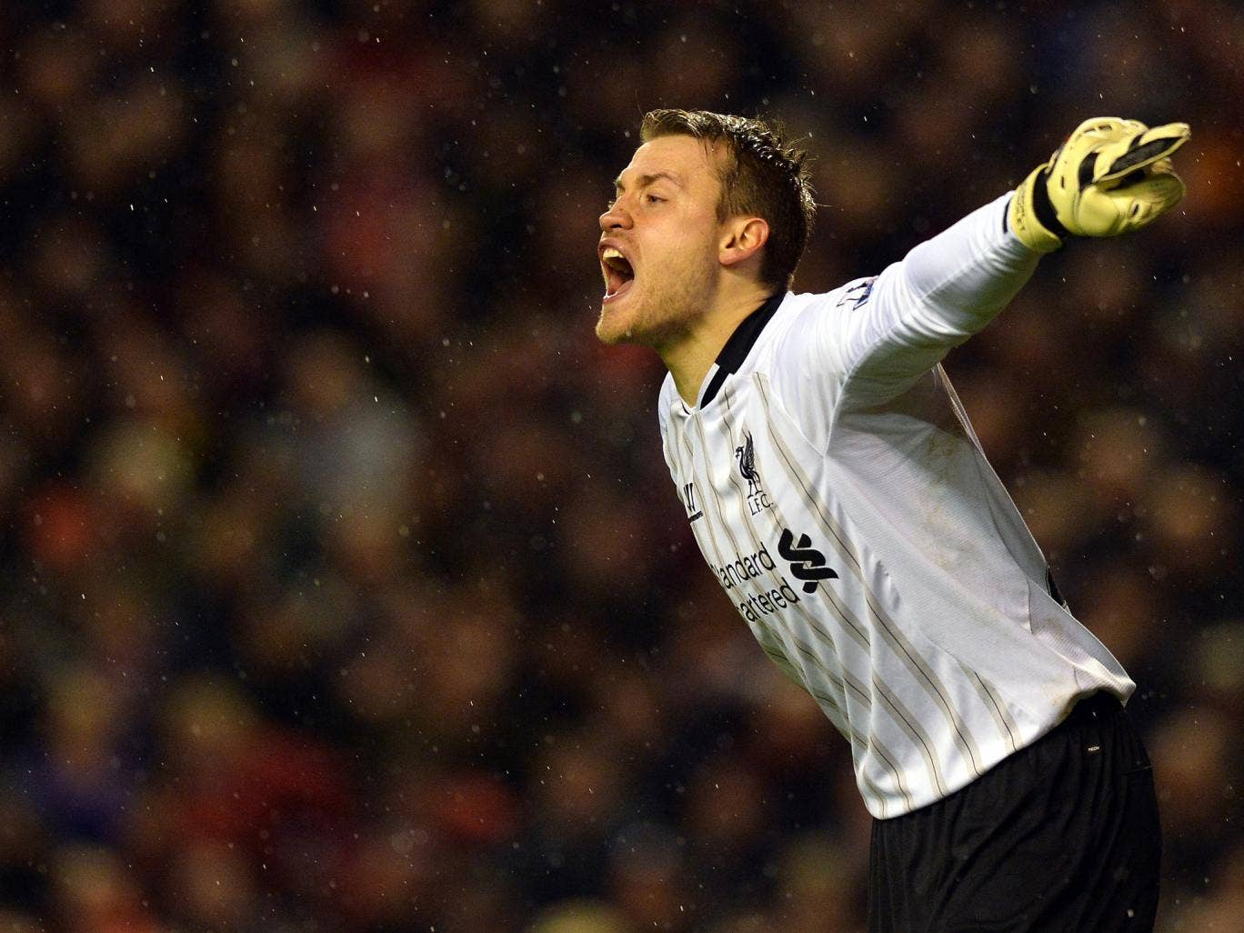 SIMON MIGNOLET: Not greatly tested but held firm when needed - 6/10.