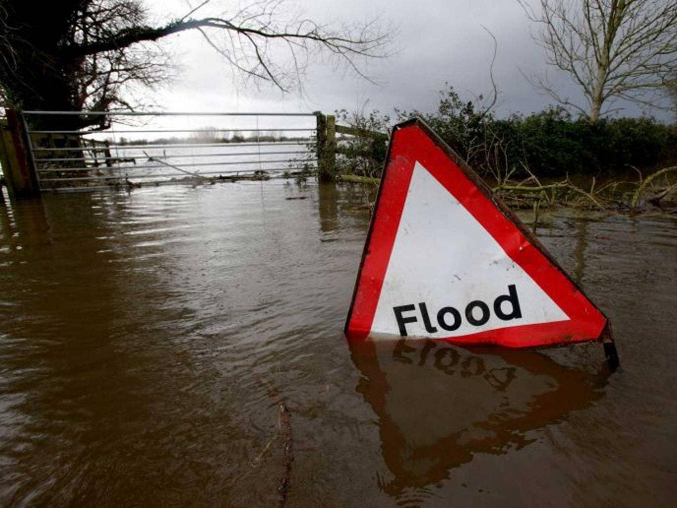 Money down the drain: Could your finances cope if events like a flood left you facing a big bill?