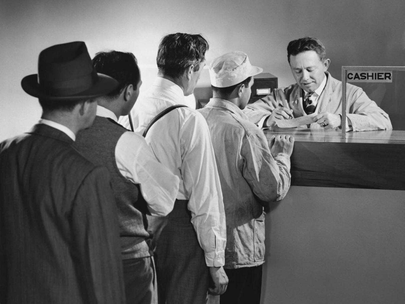 Counter interrogation: Some customers seeking to take out large sums have been asked for explanations