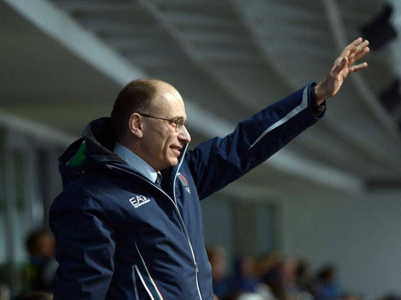Enrico Letta at the Winter Games in Sochi, where he says he will press the authorities on human rights