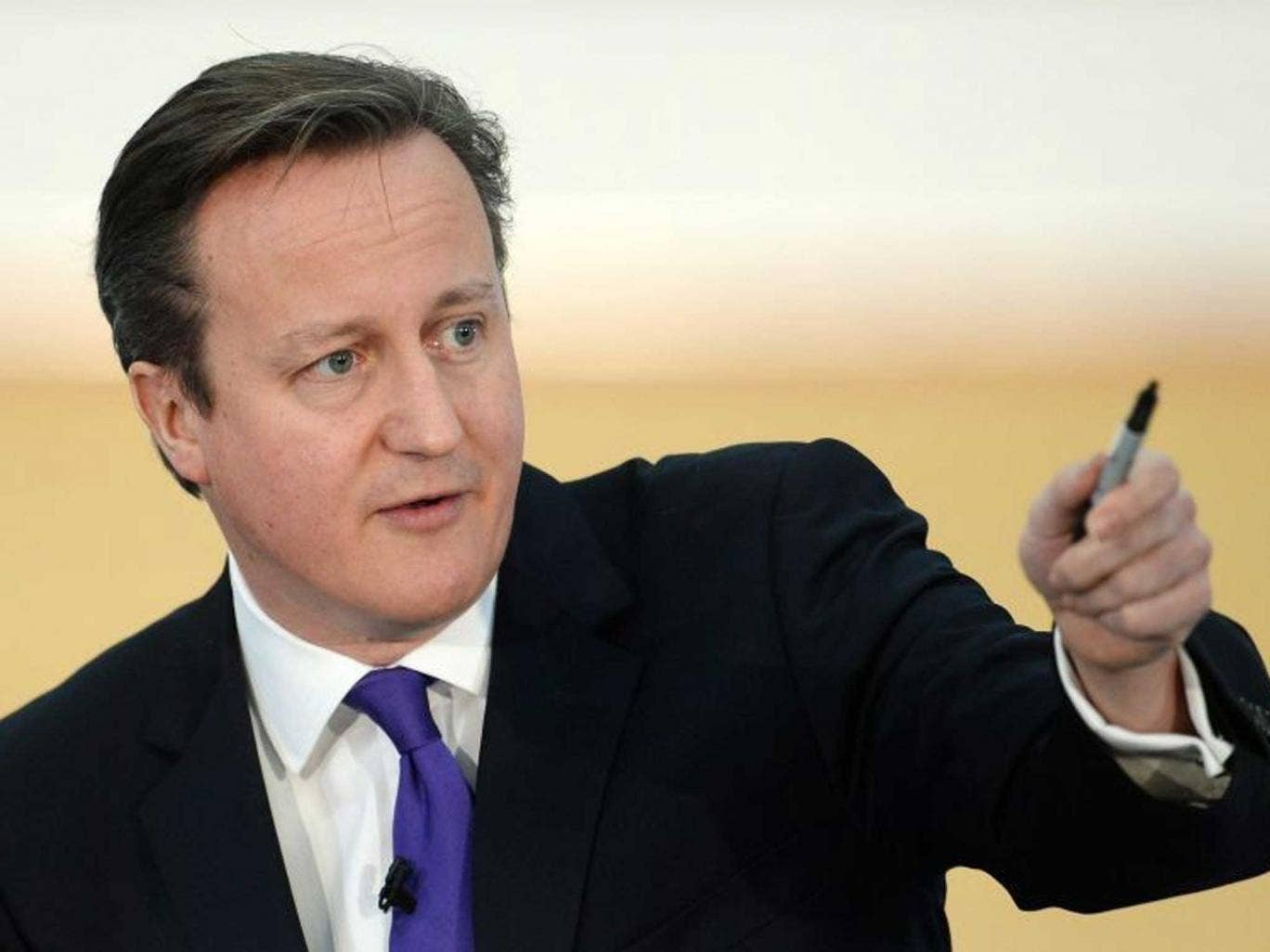 All in it together? David Cameron speaks to Scotland