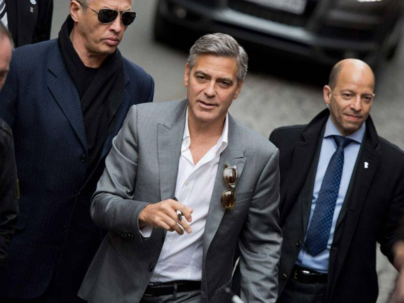 Monument man: The reliefs, once known as the Elgin Marbles, should be returned, says George Clooney