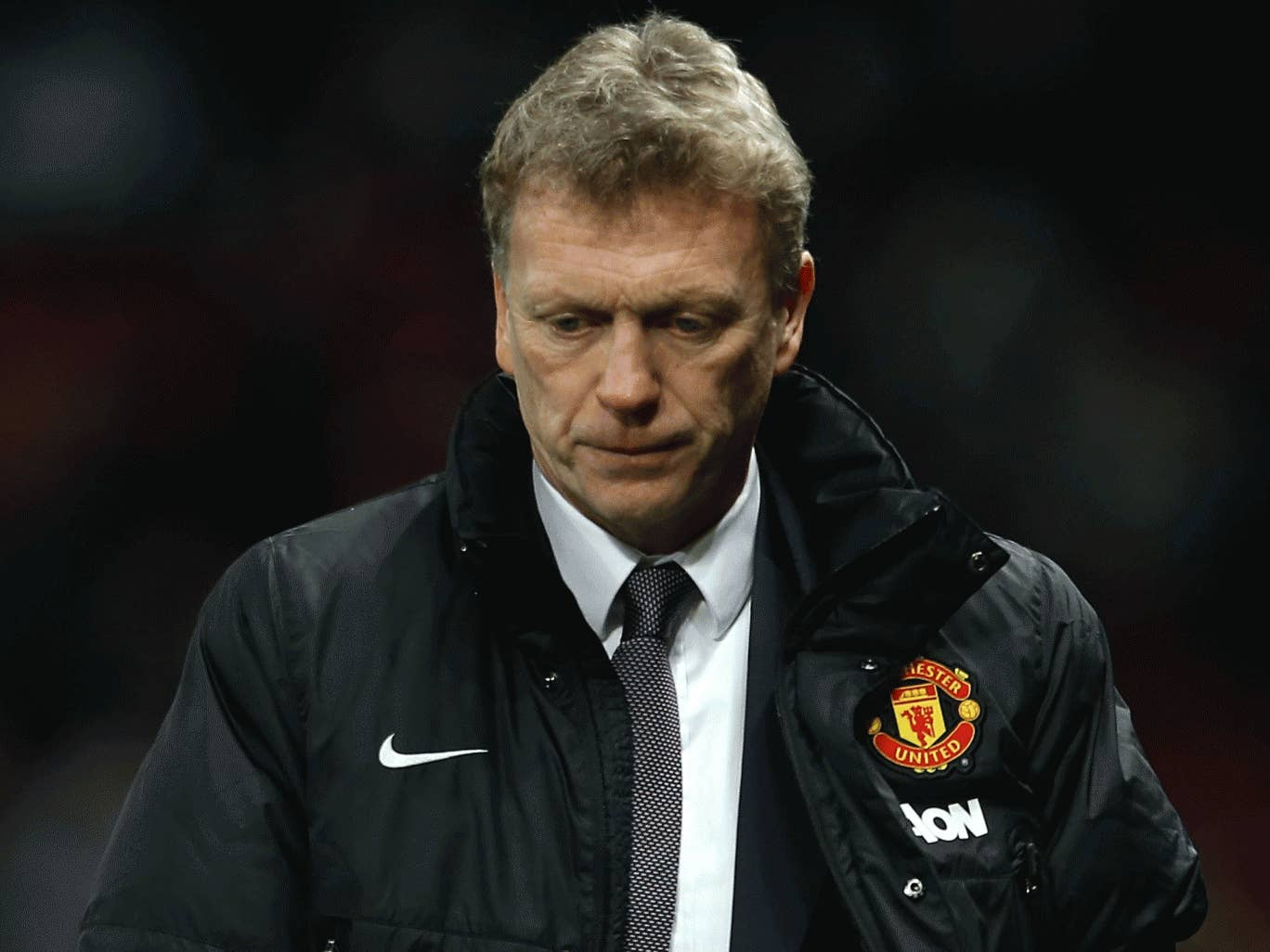 Late goal deflated the home supporters and United boss David Moyes