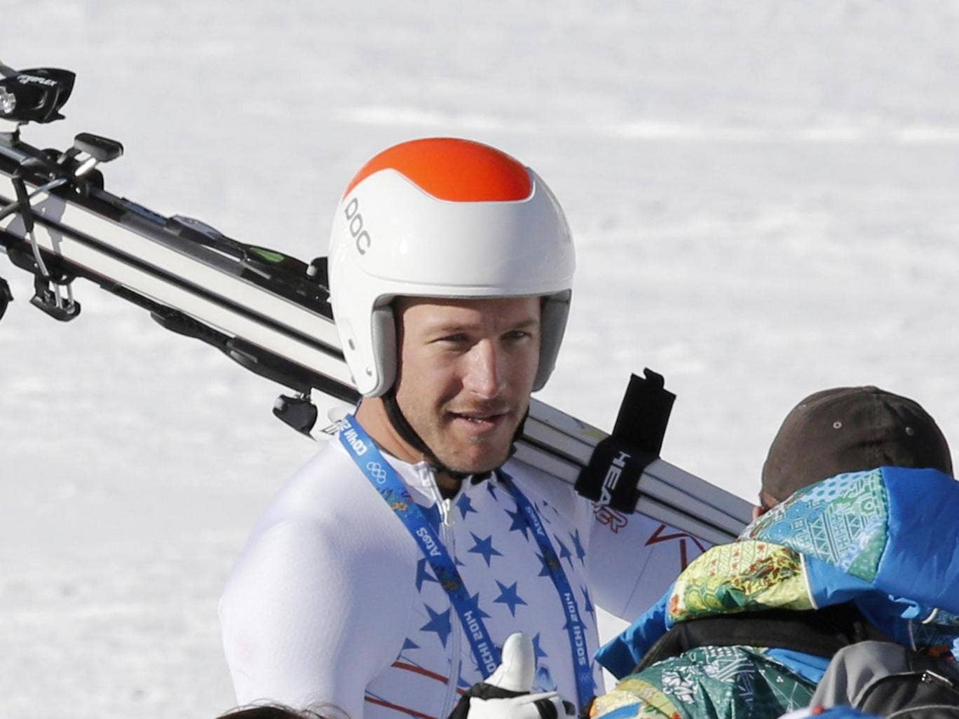 Bode Miller was fastest in practice but struggled in cloudy conditions during yesterday's downhill race