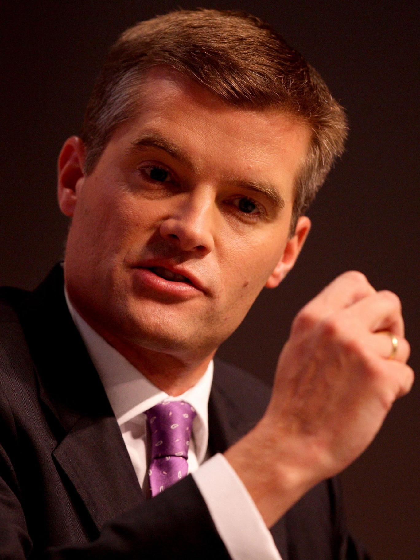 Former Immigration Minister Mark Harper