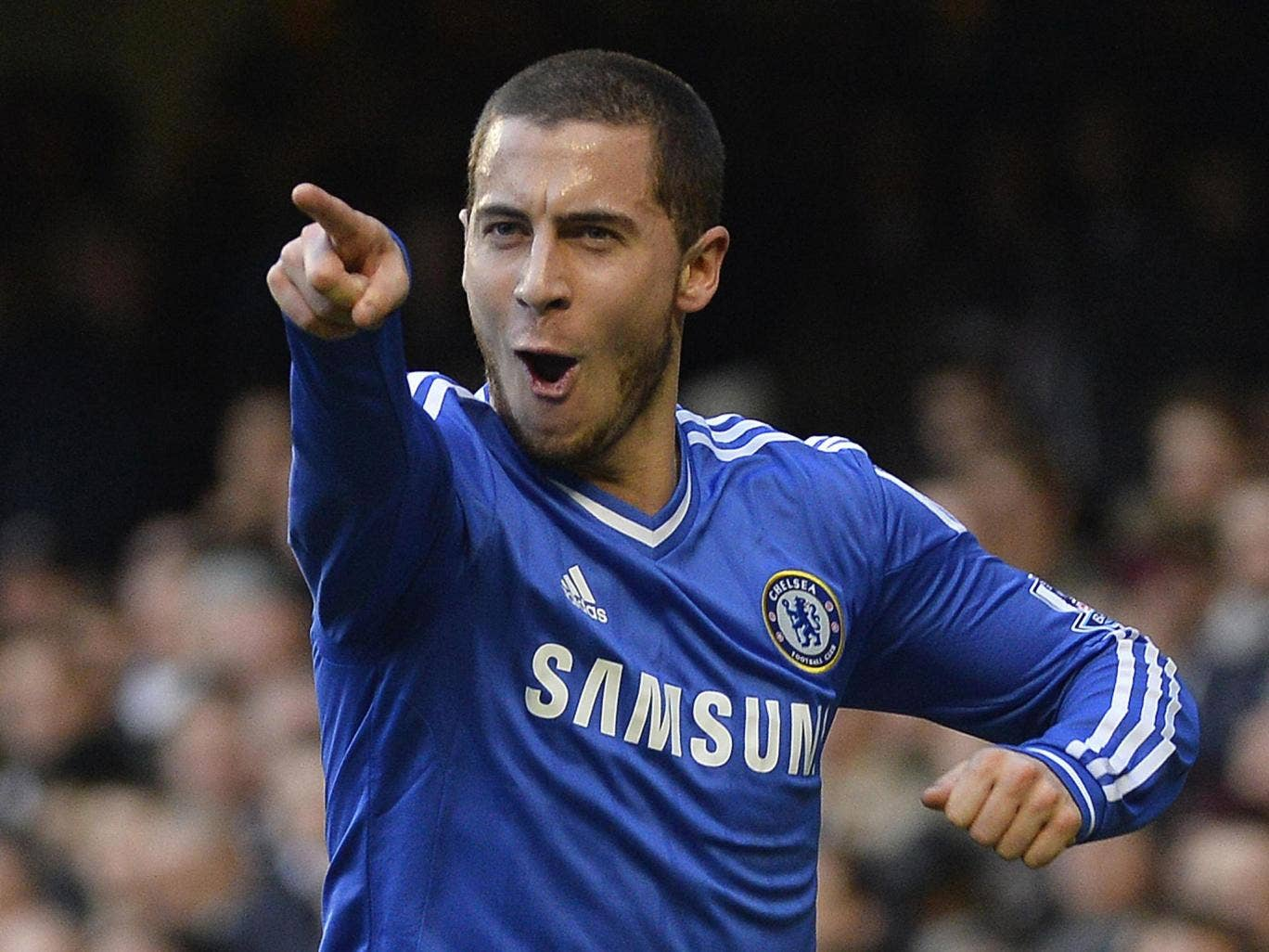 """Eden Hazard was hailed as a """"fantastic player"""" by Chelsea manager Jose Mourinho"""