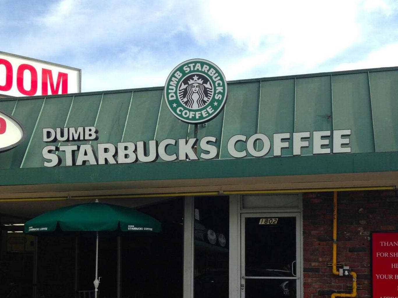 The 'Dumb Starbucks' Twitter feed has already attracted thousands of followers - but will the store be around for long?