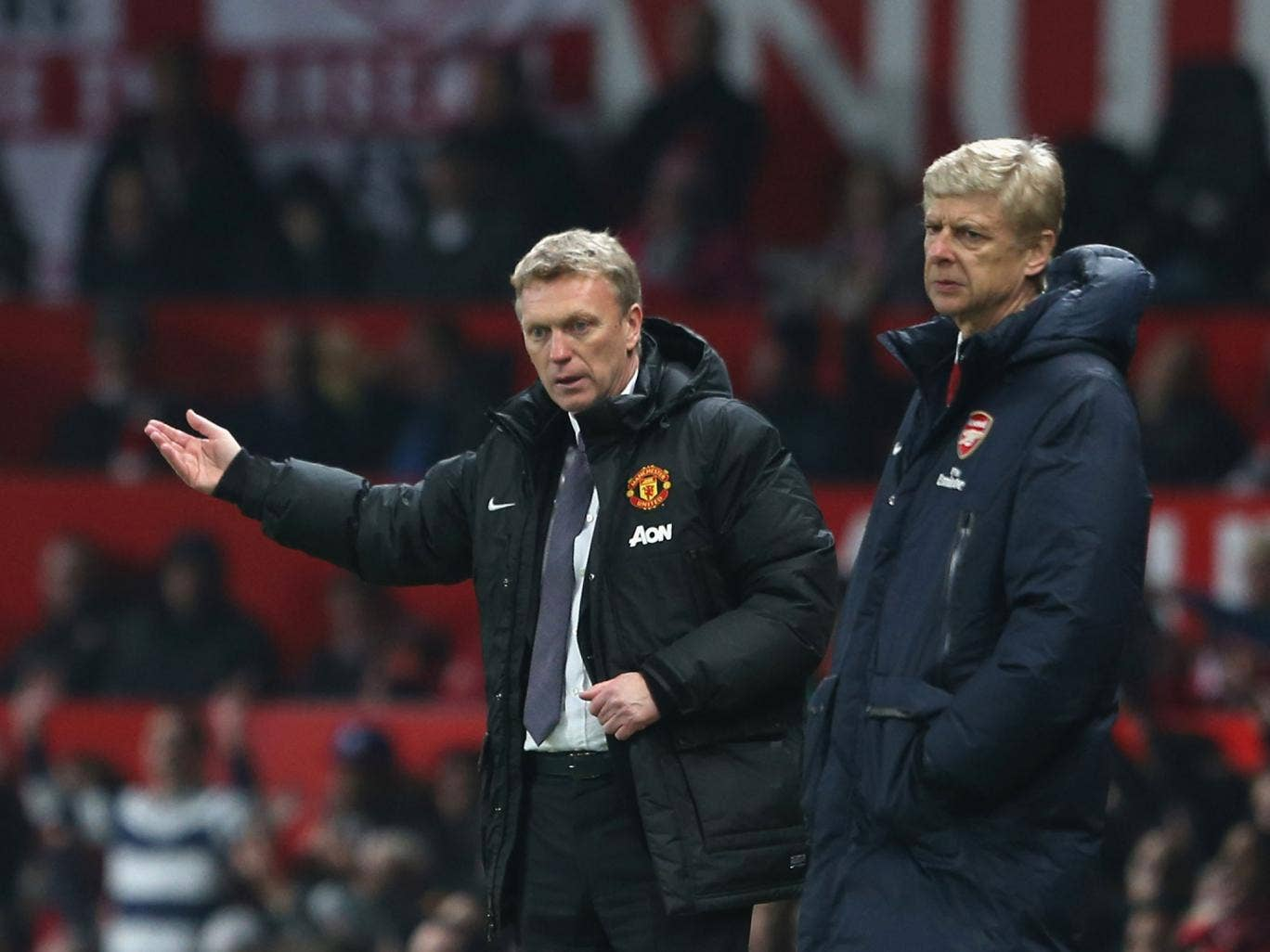 Both David Moyes and Arsene Wenger can't afford to lose their Premier League confrontation at the Emirates on Wednesday