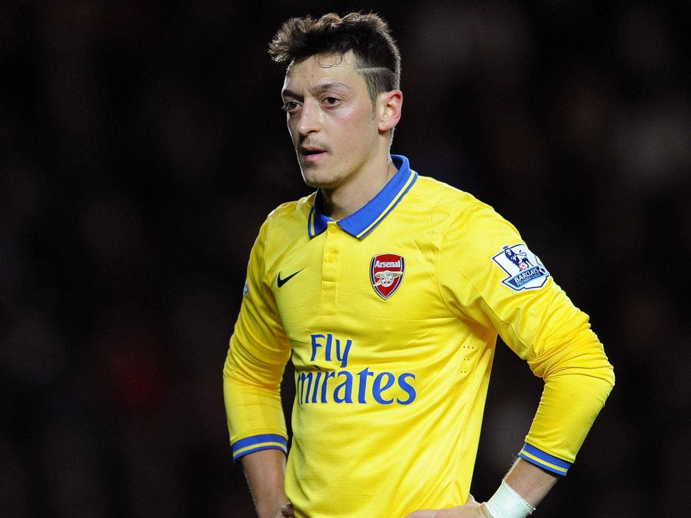 Mesut Ozil has struggled for Arsenal in recent matches