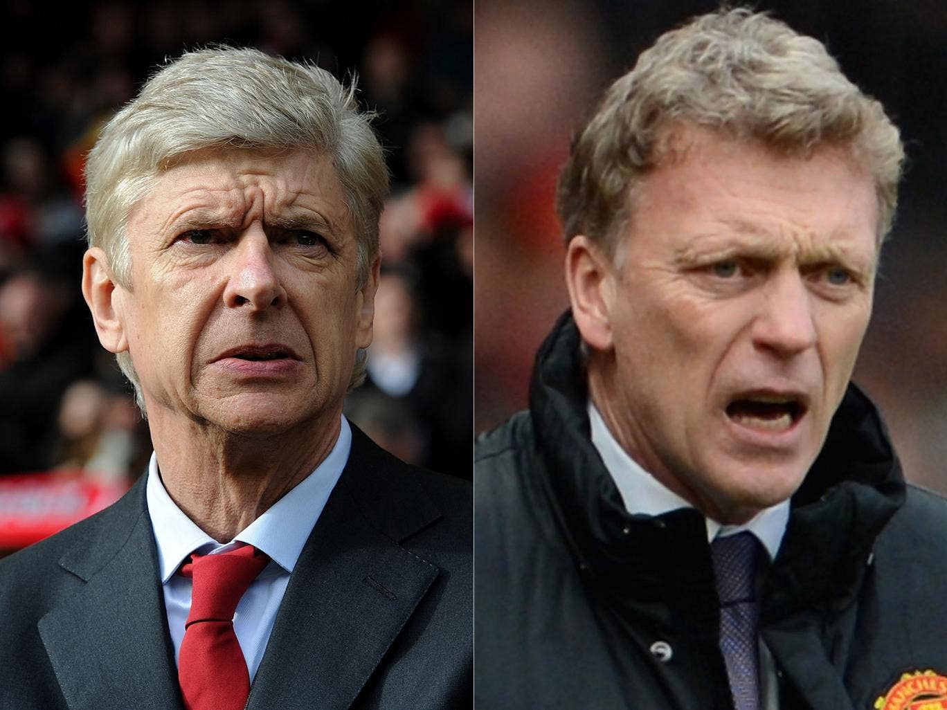 Arsene Wenger and David Moyes had little to cheer at the weekend but one could be a lot happier after Wednesday's match