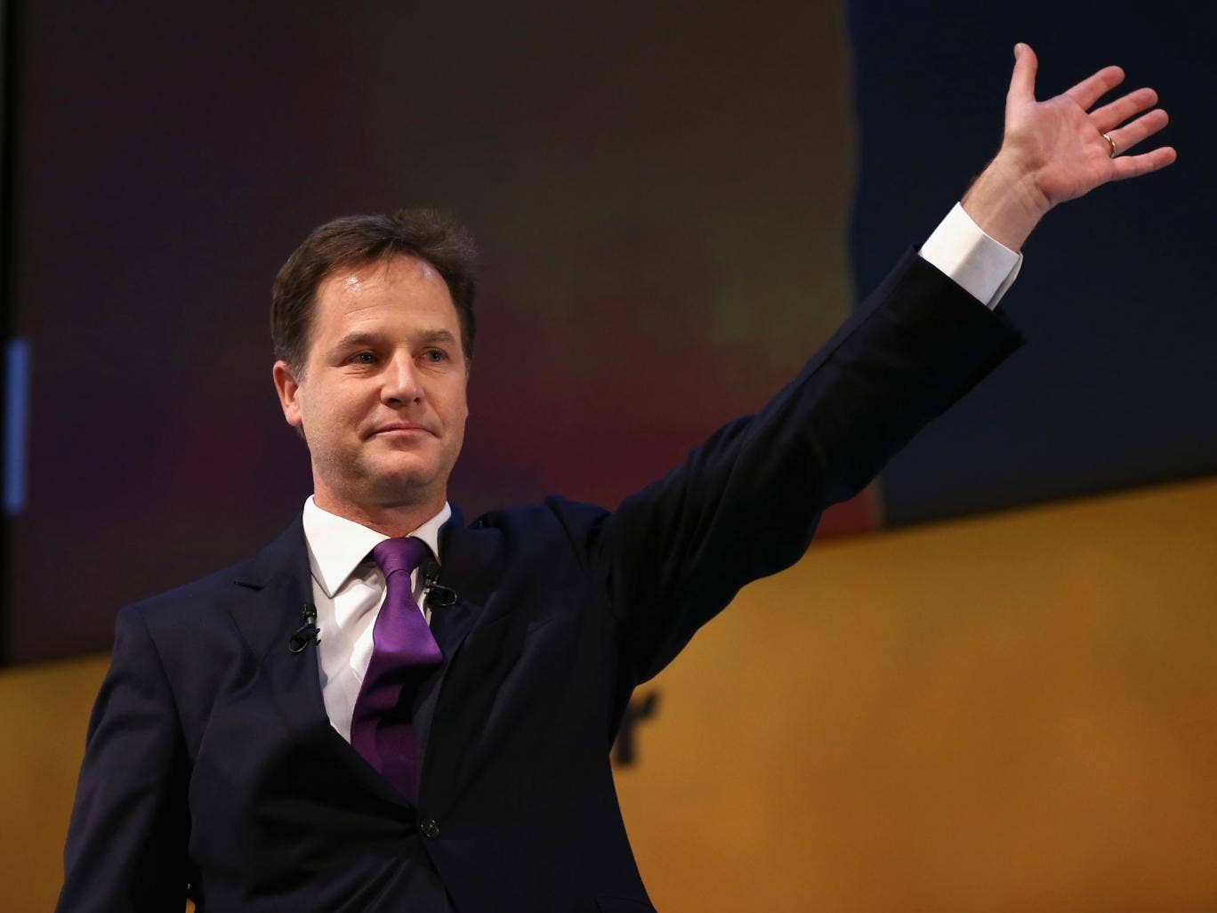 Nick Clegg said the Liberal Democrats remain committed to balancing the nation's books