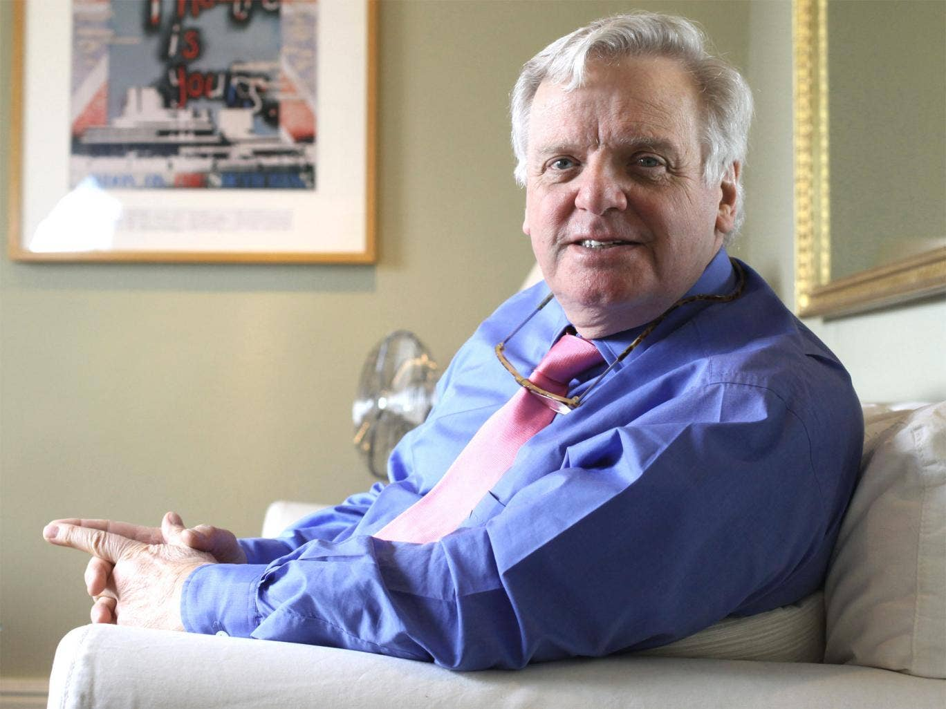 Change is good: Michael Grade gives his blueprint for the BBC's survival