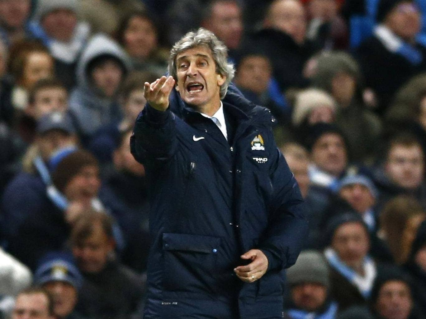 'We will see who does it better,' says Manuel Pellegrini of Chelsea's title challenge