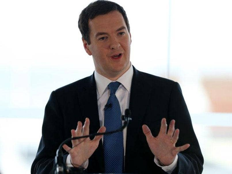 George Osborne said that an independent Scotland would have to leave the pound
