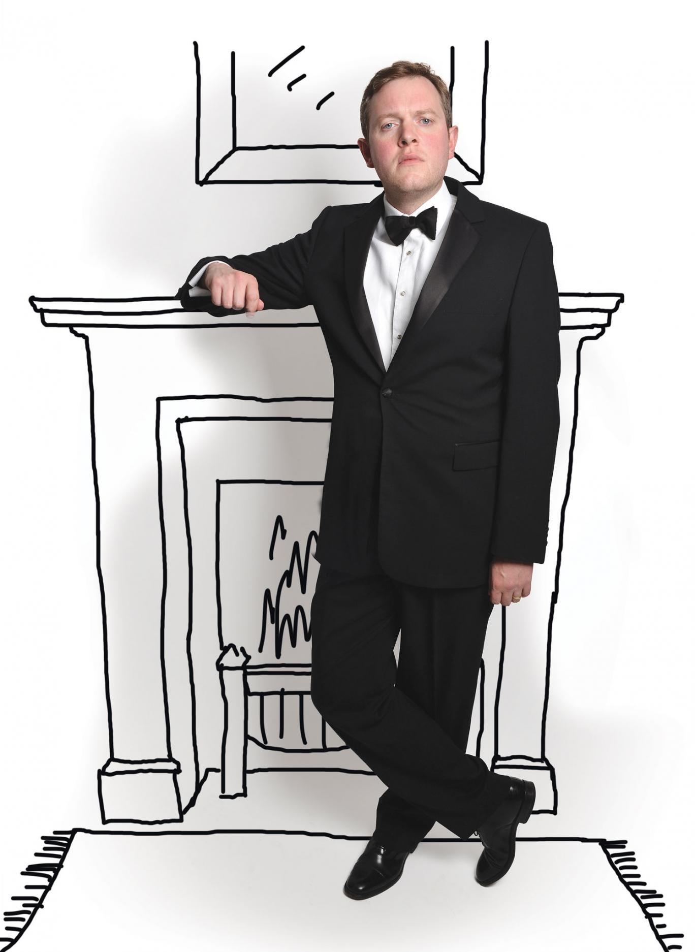 Comedian Miles Jupp
