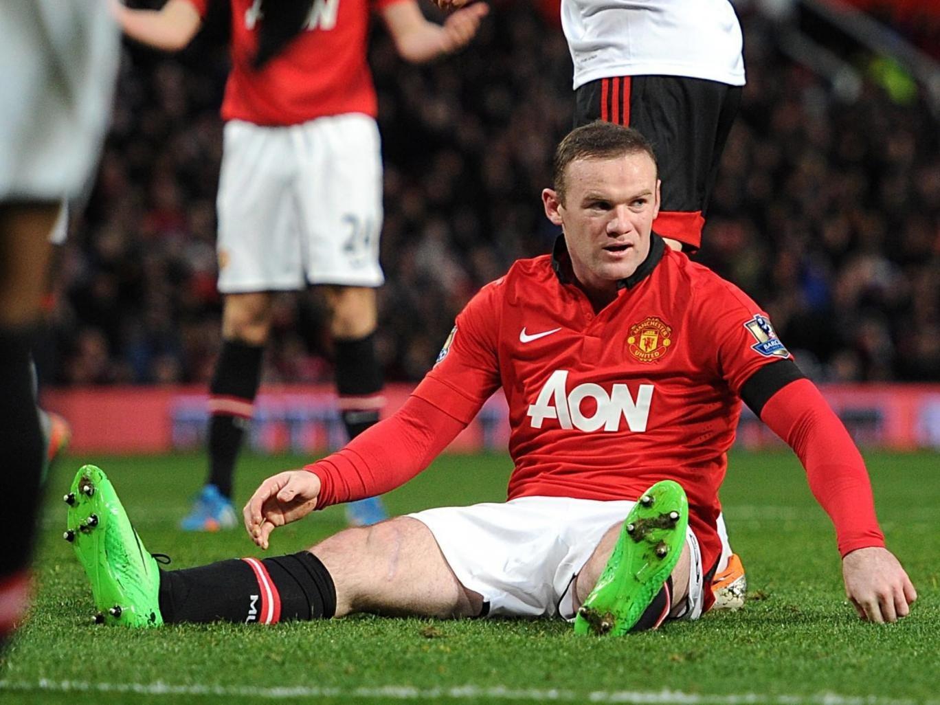 Wayne Rooney missed three weeks of the season with a groin injury