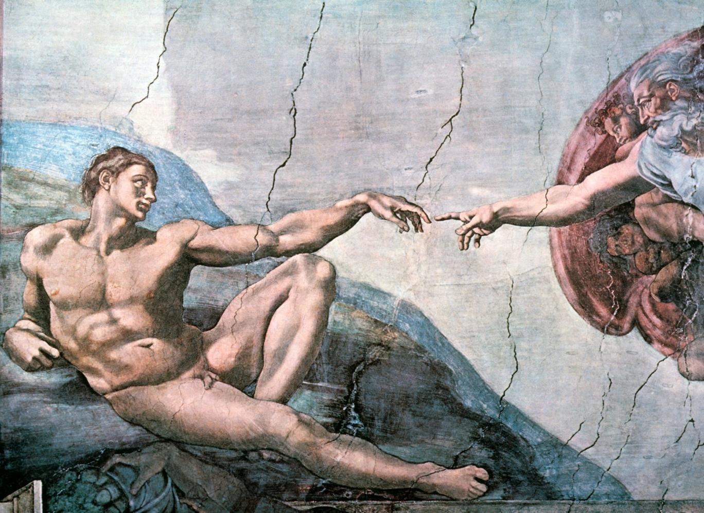 Finger on the pulse: Michelangelo's 'God Creates Adam'