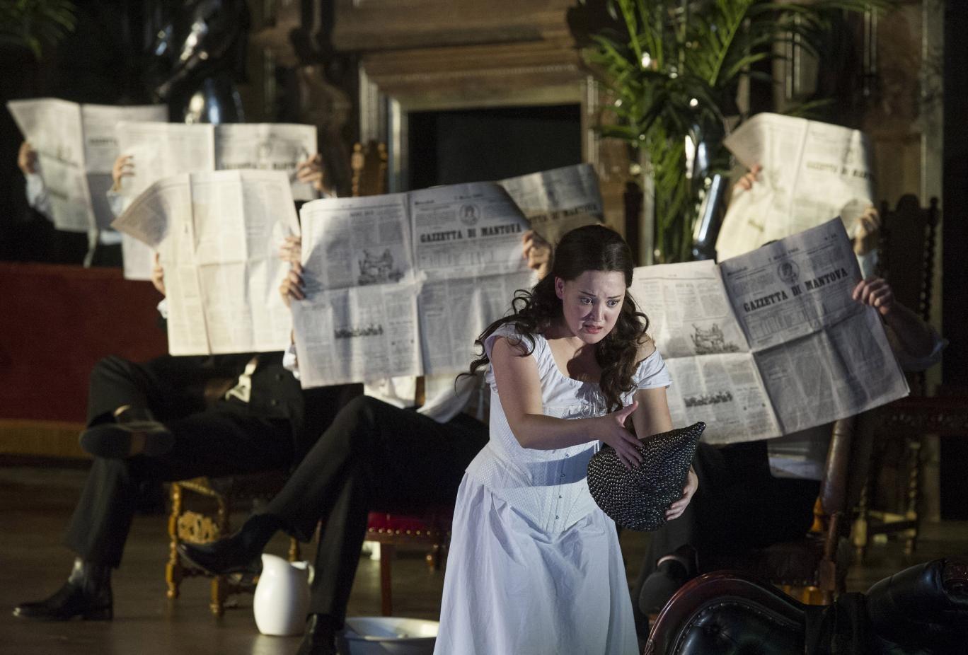 A scene from Verdi's Rigoletto ft Anna Christy