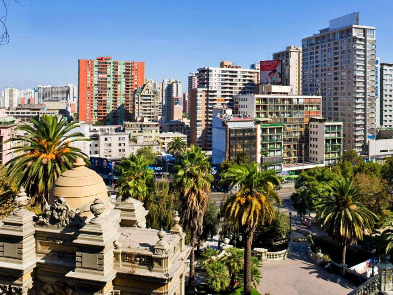 Tall order: Cerro Santa Lucia and the high-rise city