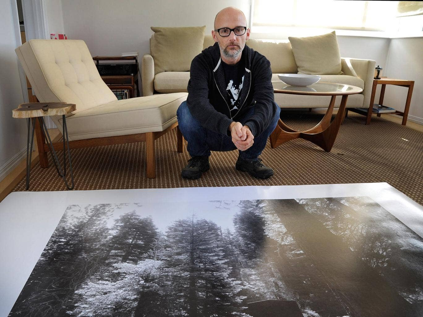 Rooms with a view: Moby has a 'Hollywood castle home'