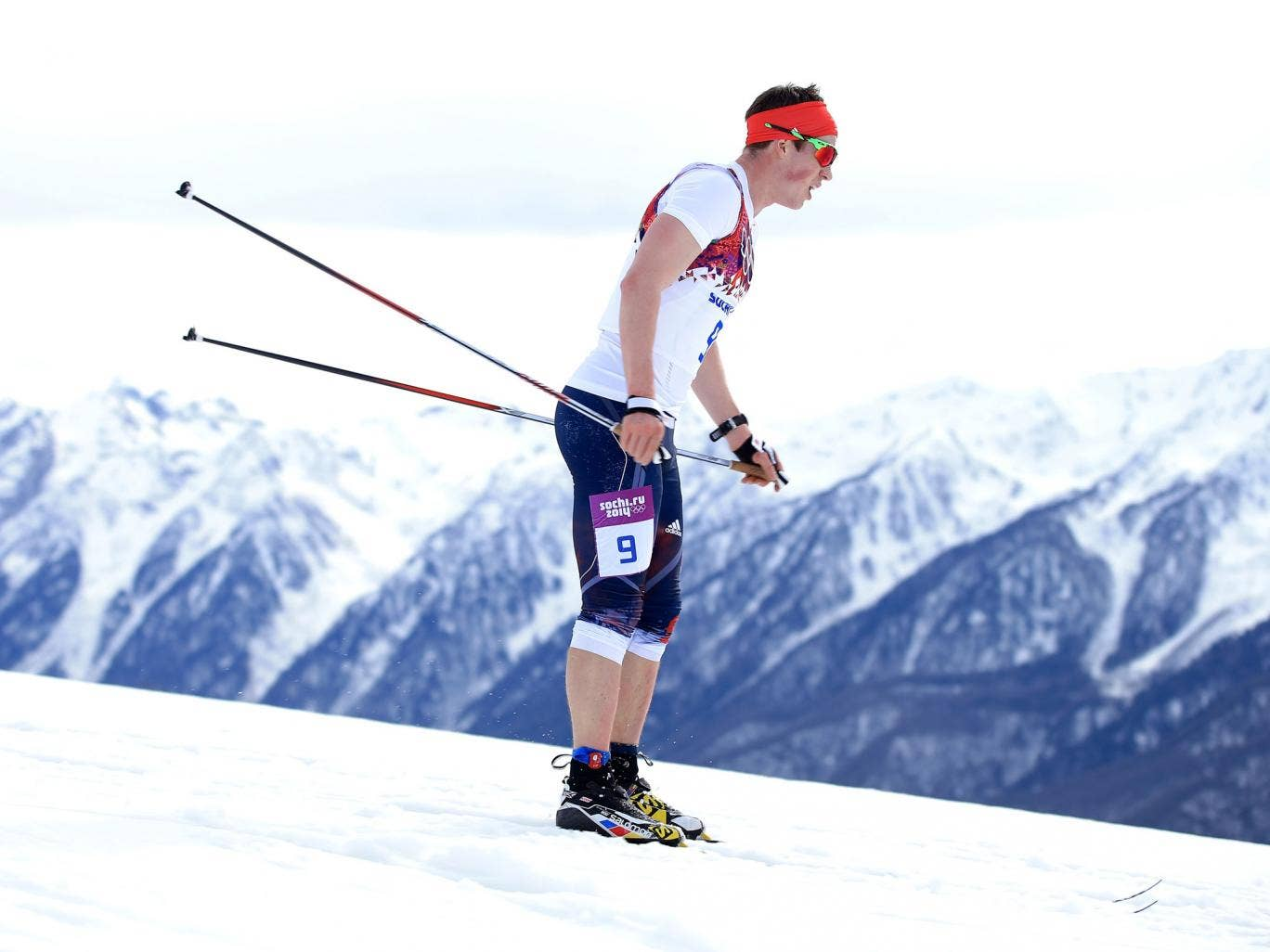 Andrew Musgrave finished 44th in the men's 15km cross country classic