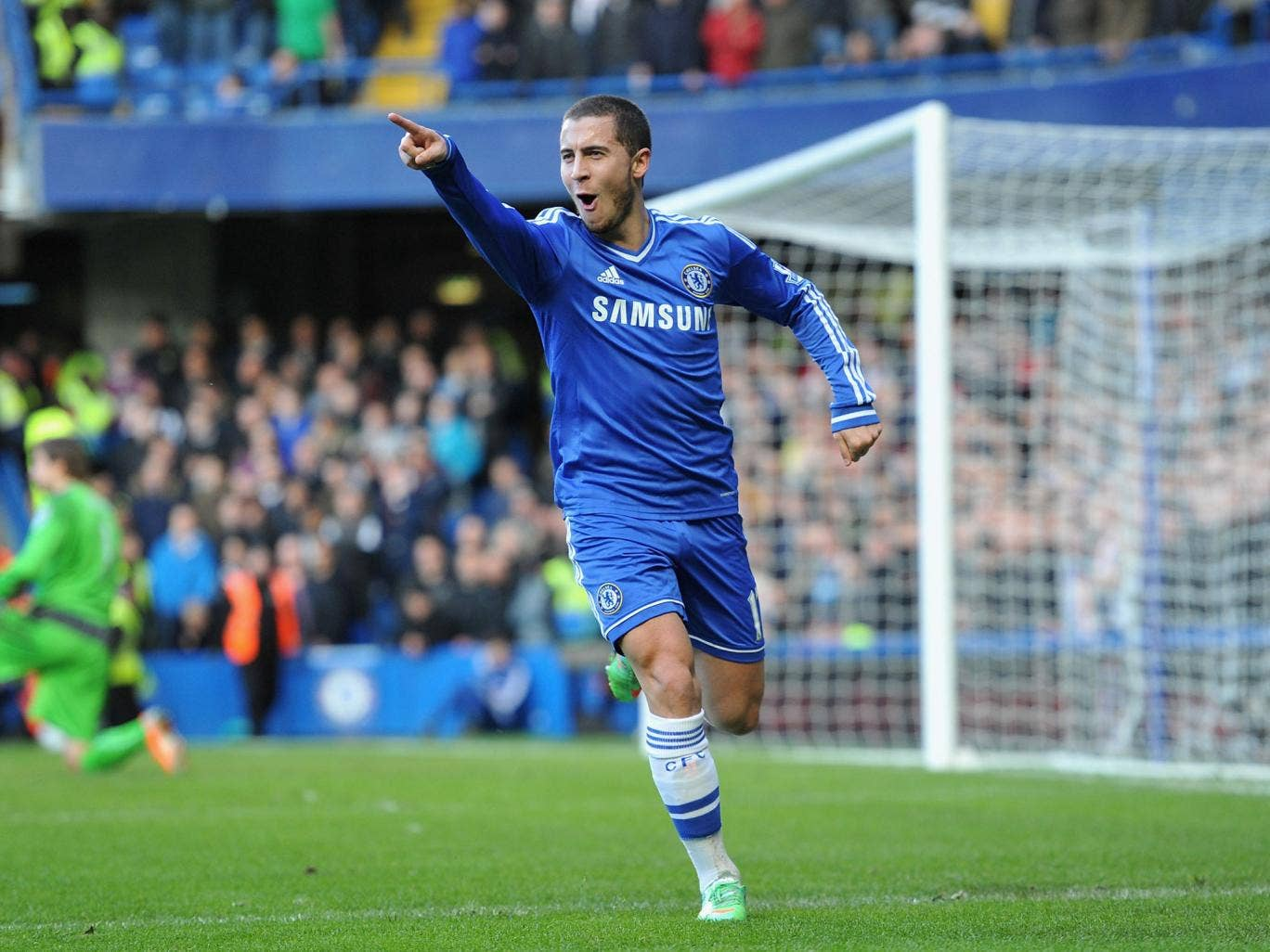 Eden Hazard was convinced to join Chelsea after Roman Abramovich offered to triple his LIlle wages, according to the French club's manager Rudi Garcia