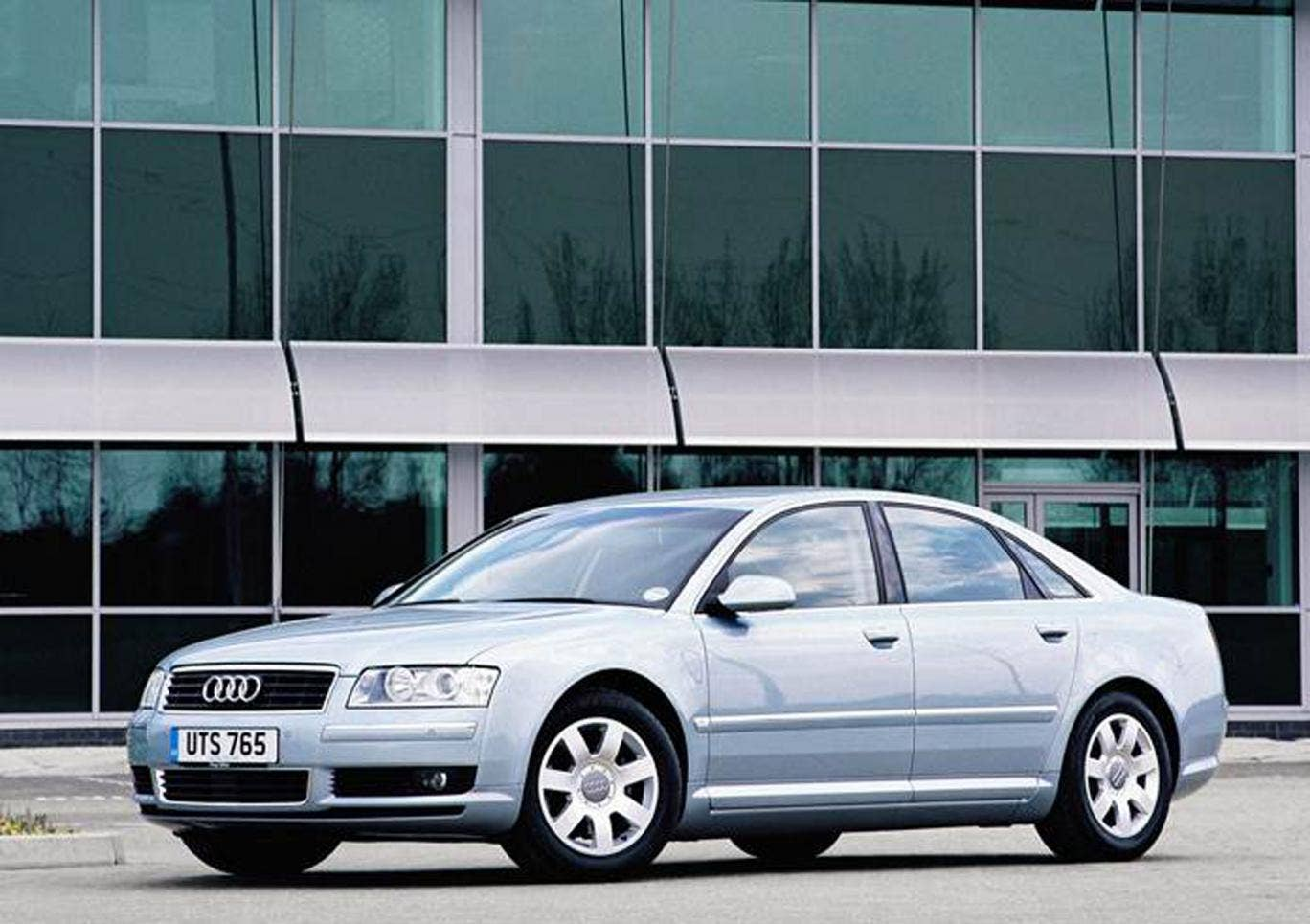 The Audi A8 is unofficially the third-best luxury German marque behind Mercedes and BMW