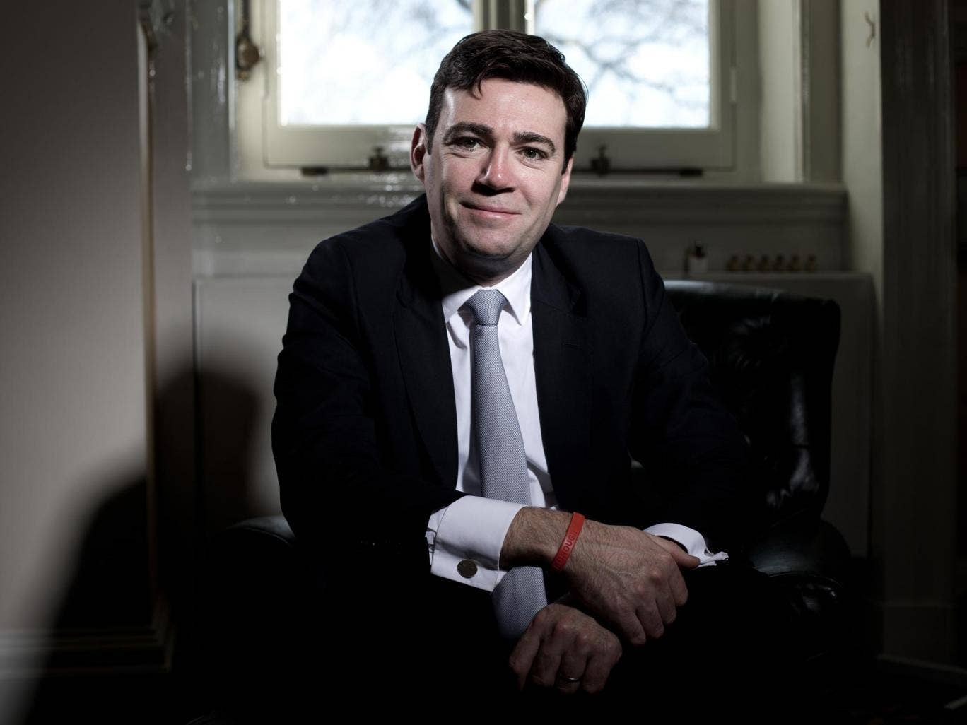 Shadow Health Secretary Andy Burnham NHS proposals have been vetoed by Labour leader Ed Miliband