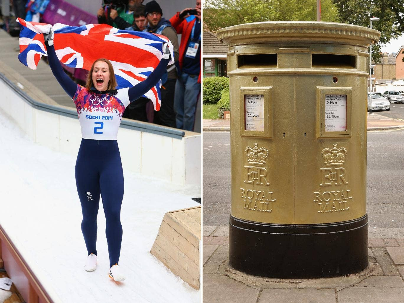 Royal Mail have rejected talk of dedicating a postbox in Sevenoaks to Lizzy Yarnold for her Sochi skeleton gold medal