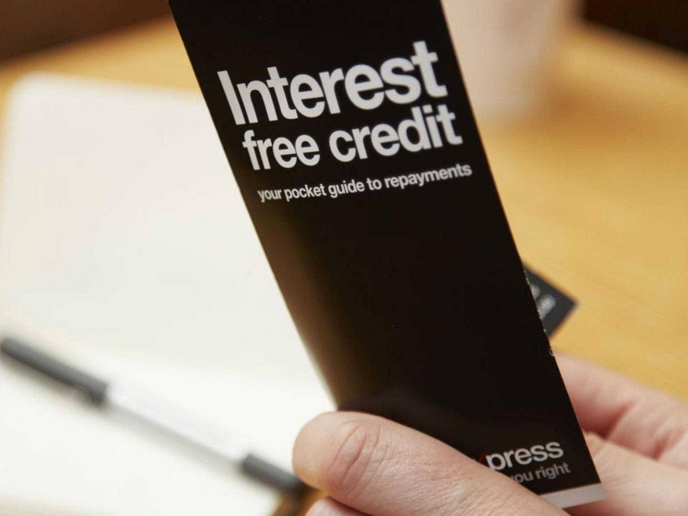 Sting in the tale: Failing to pay-off an interest-free credit agreement on time can lead to huge charges