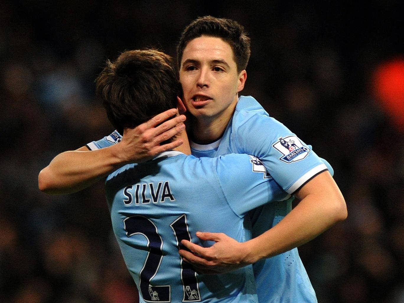Samir Nasri made his return from injury to score City's second and secure the victory