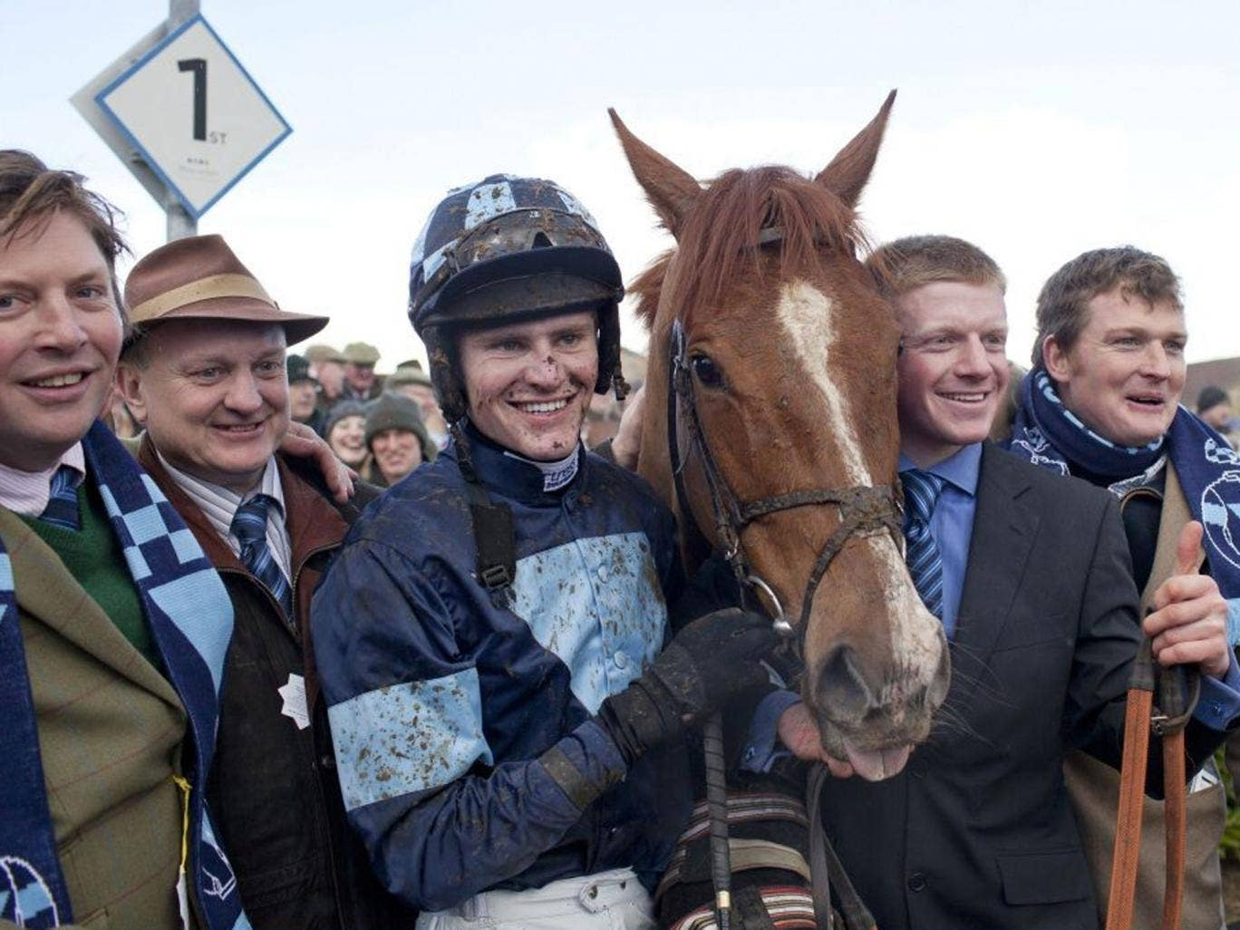 Meet and greet: Melodic Rendezvous and jockey Nick Scholfield return victorious at Wincanton