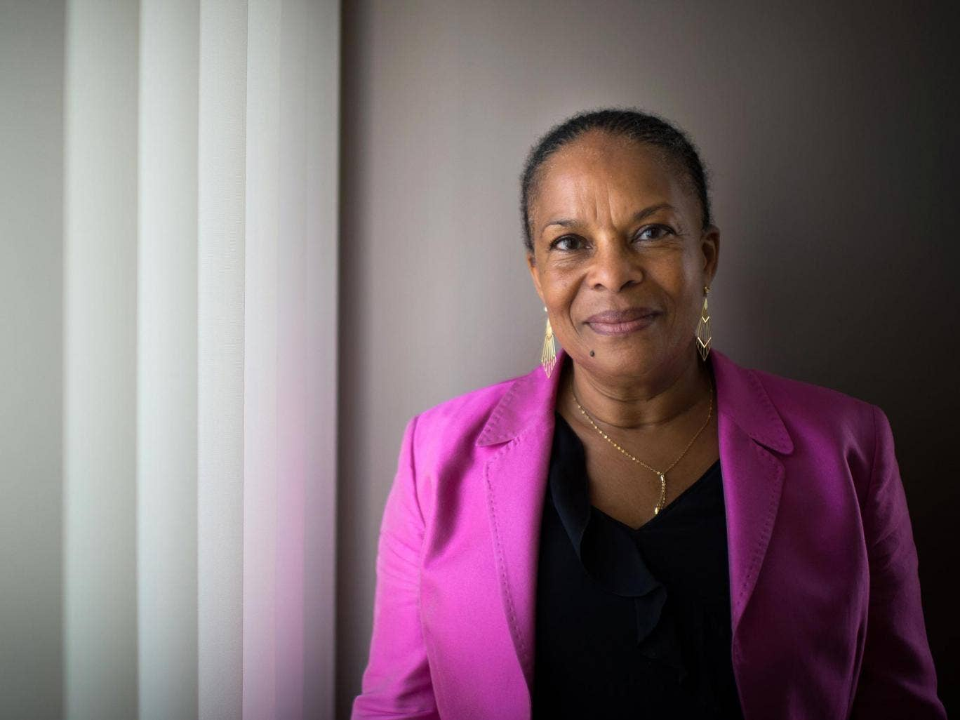 Christiane Taubira helped push through France's gay marriage bill