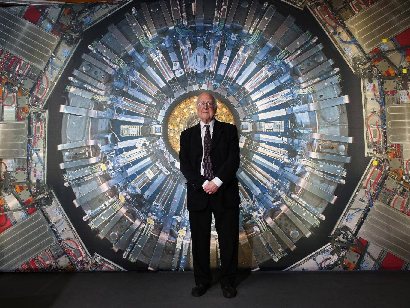 Nobel prize-winning physicist Peter Higgs says that the working on the 'God Particle' saved his life