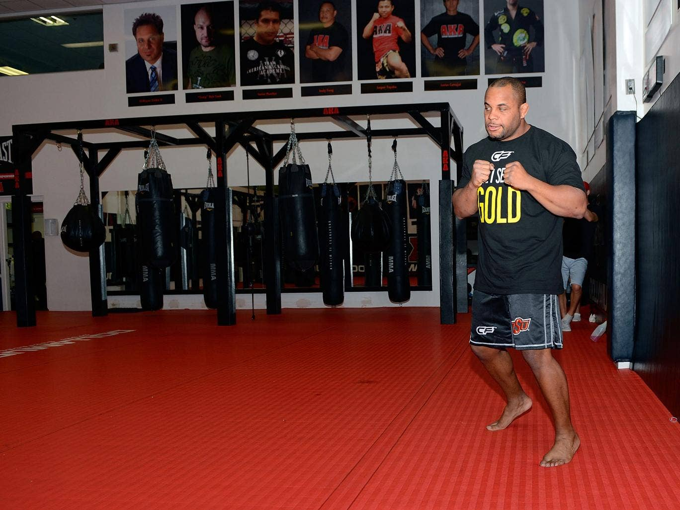 Daniel Cormier was in need of an opponent