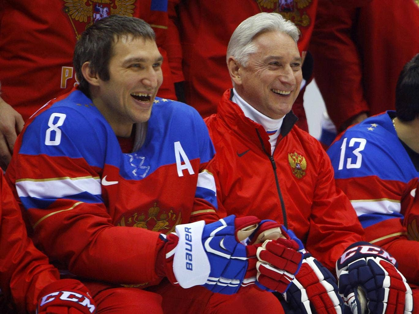 Alexander Ovechkin must guide his Russia side through a playoff against Norway