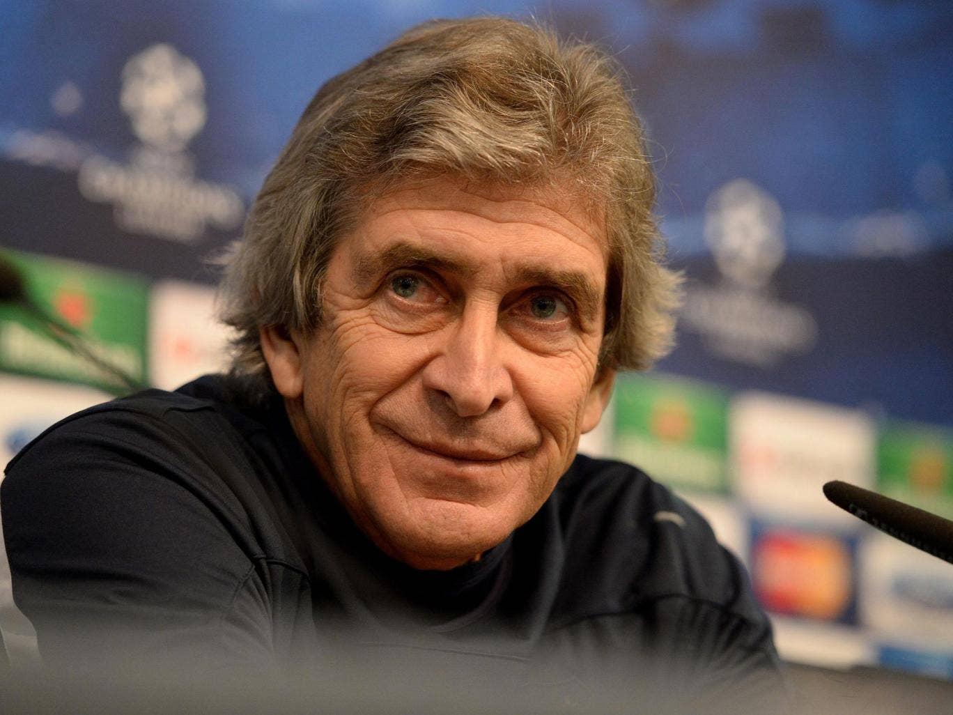 City manager Manuel Pellegrini said he would not be making any special plans to counter Barça