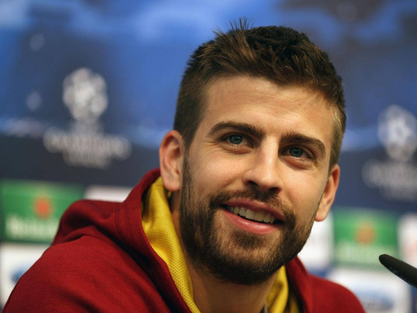 Gerard Pique is determined to prove Barcelona's critics wrong with victory over Manchester City