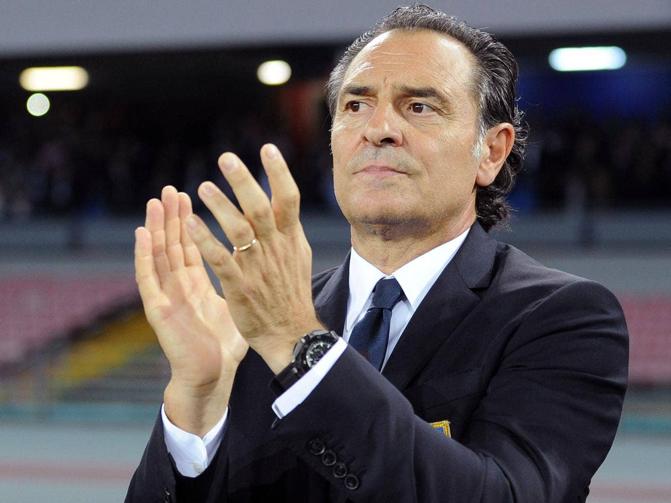 Italy manager Cesare Prandelli has been linked with a move to Tottenham to become manager after the 2014 World Cup