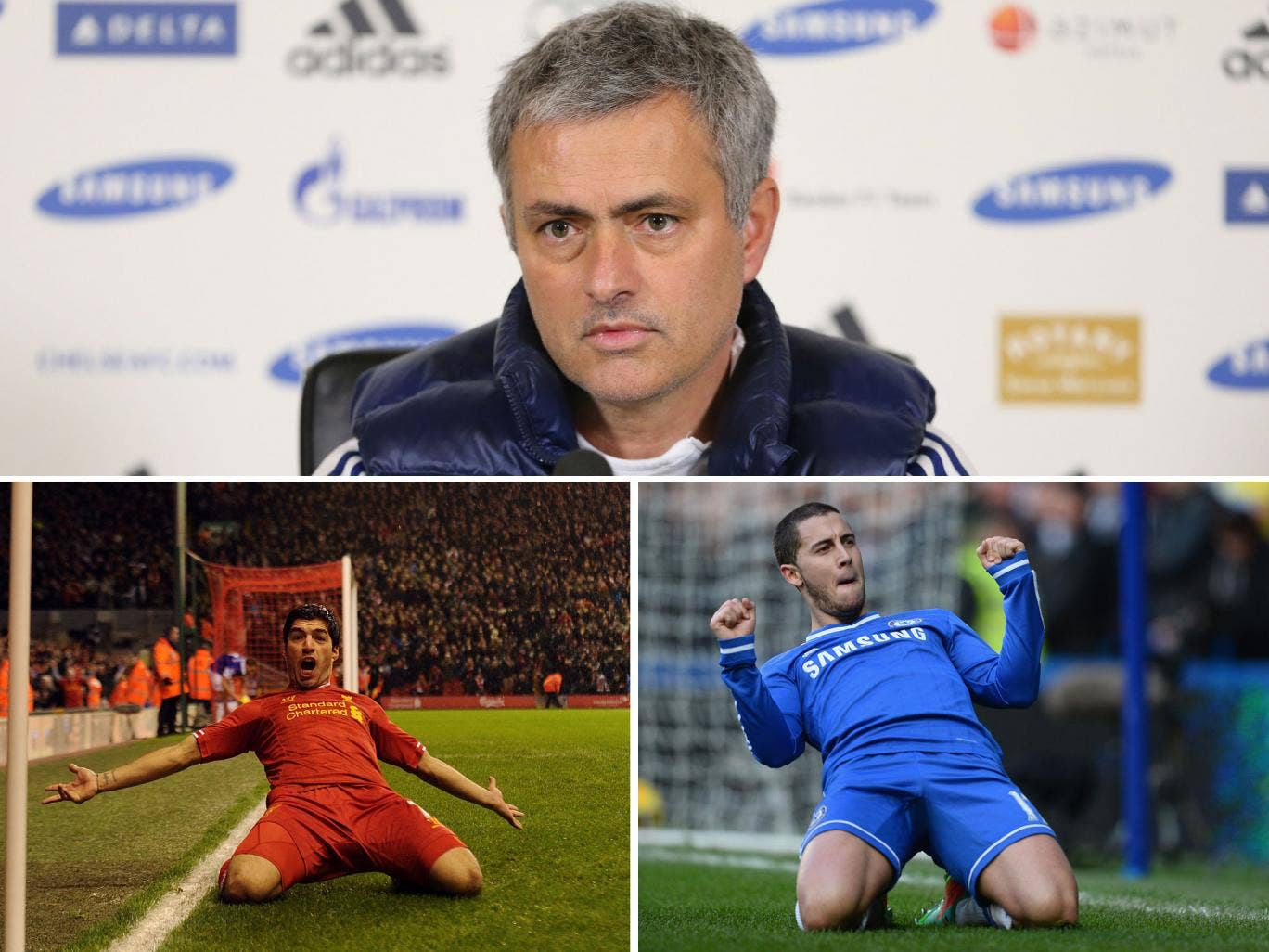 Jose Mourinho believes the player of the year awards should go to those who win the league, with Luis Suarez and Eden Hazard in the running for this year's award