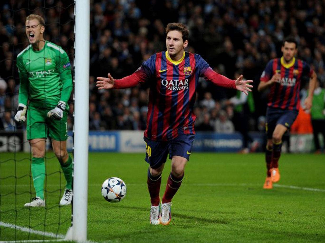 Manchester City 0 Barcelona 2: Lionel Messi analysis ...